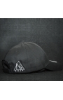 "Casquette baseball cap all black ""NB by nobe"""