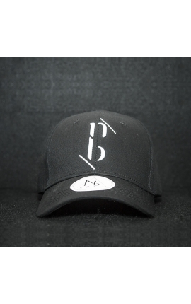 "Casquette baseball cap black ""NB by nobe"""