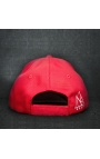 """Casquette baseball cap rouge """"NB by nobe"""""""